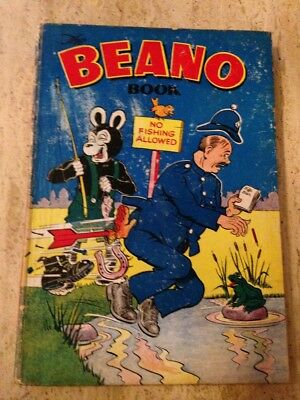 BEANO BOOK ANNUAL 1955. Fair Condition. FREE UK POSTAGE.