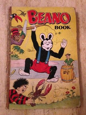 BEANO BOOK ANNUAL 1954. Readers Copy Condition. FREE UK POSTAGE.