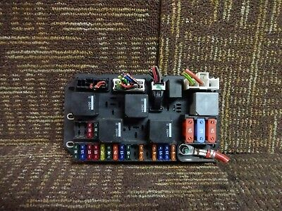 11 2011 Land Rover Range Rover Fuse Box Relay Trunk Mounted Block bh42-14n030-aa
