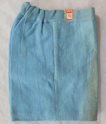 Aertex shorts vintage 1930s school uniform sports kit Blue boy girl child UNUSED
