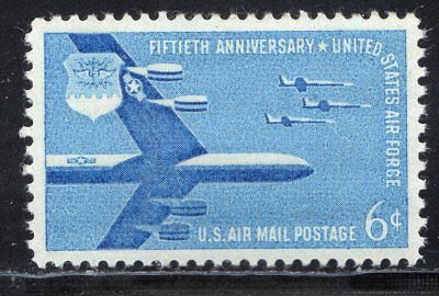 C49 - Air Force   -  Airmail Single MNH