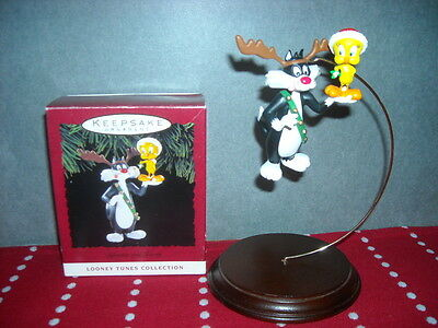 Hallmark Ornament Sylvester and Tweety Looney Tunes Collection 1993