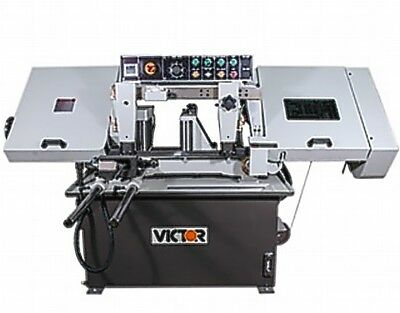 """10"""" W 10"""" H Victor AUTO-10HS Horz Band Saw HORIZONTAL BAND SAW, AUTO ROLLER FEED"""