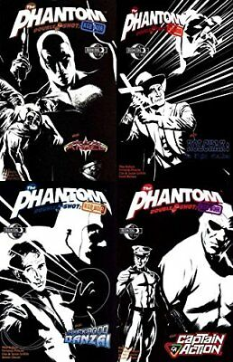 The Phantom: Double Shot - KGB Noir #1-4 (2009-2010) Moonstone - 4 Comics