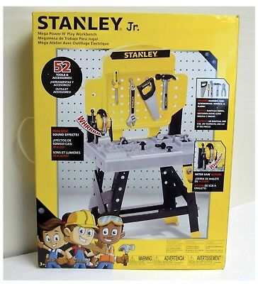 Super Stanley Jr 52Pc Toy Workbench Tool Set Kids Toy Work Bench Gamerscity Chair Design For Home Gamerscityorg