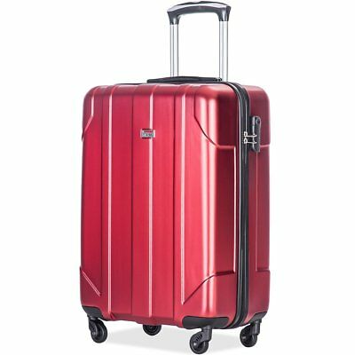 Merax P.E.T Luggage Light Weight Spinner Suitcase 20inch 24inch and 28 inch