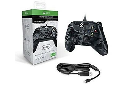 Xbox One Wired Controller Stealth Black