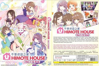 DVD Himote House: A share house of super psychic girls (VOL.1-12 END) + SHIPPING