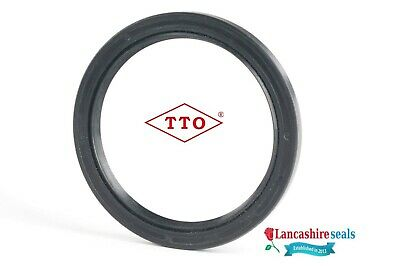 12x20x5mm Oil Seal Nitrile Rubber Double Lip R23/TC 12mm Shaft