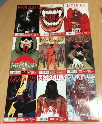 Morbius the Living Vampire #1-9 Complete Marvel NOW Comics 2013 Movie News VHTF!