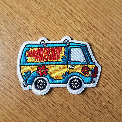 Scooby Doo Mystery Machine Van Embroidered patch 3 1/8 inches Wide