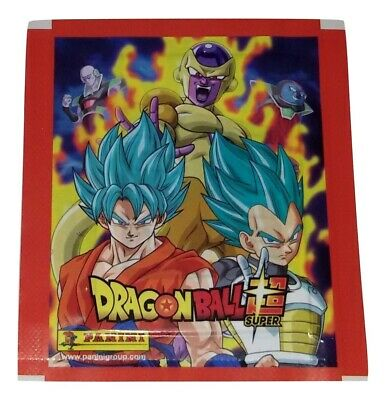 Dragon Ball Super Lotto 40 Bustine Figurine Panini 2017