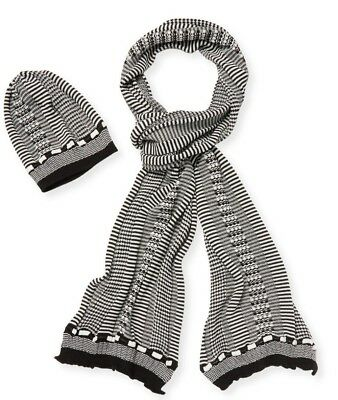 MISSONI HAT   Scarf set Black White -  95.20  f37307ebbeb1