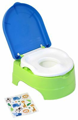 Summer Infant MY FUN POTTY 3 STAGE SYSTEM - NEUTRAL Baby Toilet Training - NEW