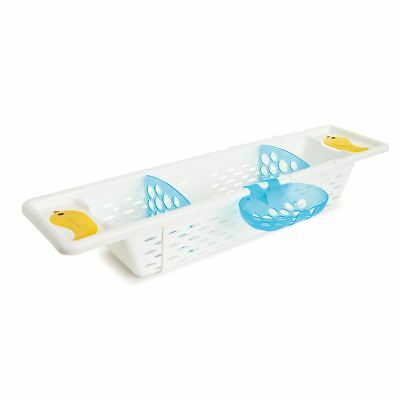 Munchkin SECURE GRIP BATH CADDY Baby/Toddler Bath Storage Basket BN