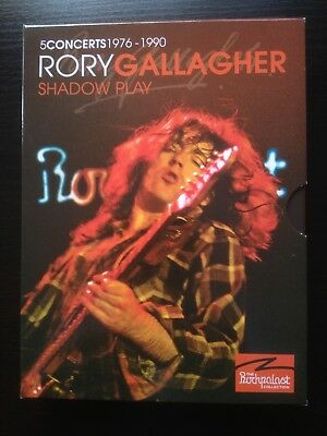 Rory Gallagher (3Dvd) Shadow Play (5 Concerts 1976-1990) Live Rockpalast