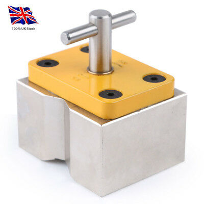 On/Off Switchable Welding Magnet Block 90kg Force