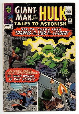 Tales To Astonish Vol 1 No 69 Jul 1965 (FN-) (5.5) Marvel, Silver Age