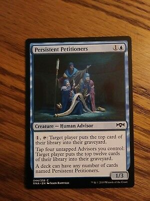 Persistent Petitioners MTG Ravnica Allegiance  Multiple available.