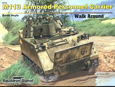 Squadron Signal Walk Around M113 Armoured Personnel Carrier Apc Us Army Vietnam
