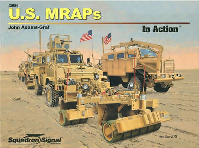Squadron Signal U.s. Mraps In Action Us Army Iraq M1117 Rg-31 Rg-33 Cougar