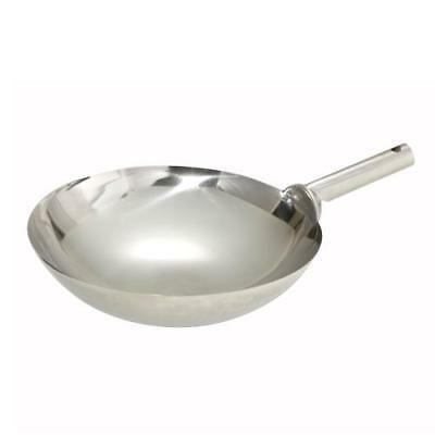 "Winco WOK-16W Chinese Wok, 16"" dia., round, welded joint handle"