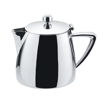 Winco Z-MC-TP10 Tea Pot, 10 oz., with hinged lid, 18/10 stainless steel