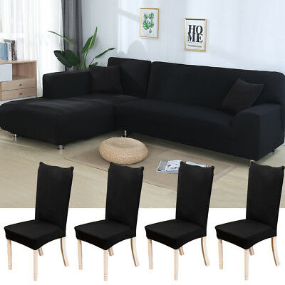 Marvelous 3 Seat L Shape Sofa Cover Polyester Fabric Stretch Gmtry Best Dining Table And Chair Ideas Images Gmtryco