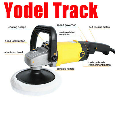 EU Plug Variable 6 Speed Electric Car Polisher Buffer M14 Waxer Sander Home Boat
