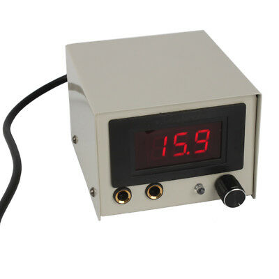 US Stock Professional Digital LCD Stable Power Supply For Tattoo Machine Beige