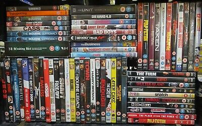 Job Lot Collection Bundle of Action Drama & Thriller DVD Movies Films #11232