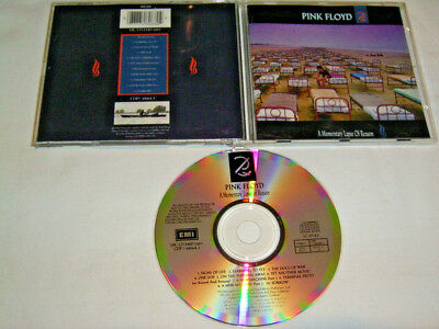 CD - Pink Floyd A Momentary Lapse of Reason - UK CDP 7480682 # R2
