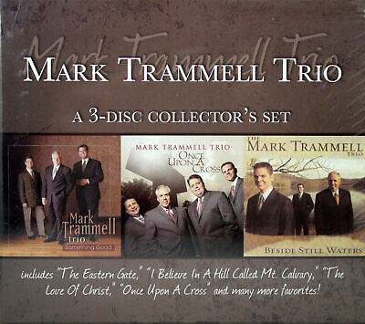 Mark Trammell Trio NEW 3 Disc CD Collector's Set Christian Southern Gospel Music