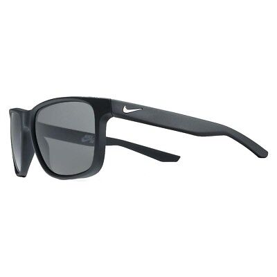 a39012807aef Nike Mens Flow P Matte Black/Silver with Polarized Grey Lens Sunglasses