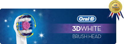 Braun Oral-B 3D WHITE Electric Toothbrush Replacement 3DWhite Tooth Brush Heads