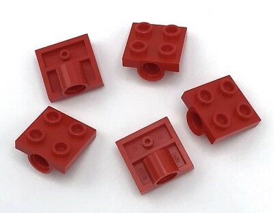 Lego Red Plate Mod 1x2 with Pin Hole Element 6109459 Part 18677 New Qty:25