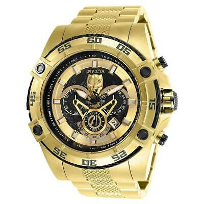 Invicta Marvel Black Panther Viper Limited Edition Gold Chronograph Watch 26805