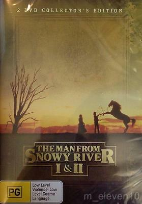 The Man From Snowy River 1 - 2 : New Dvd