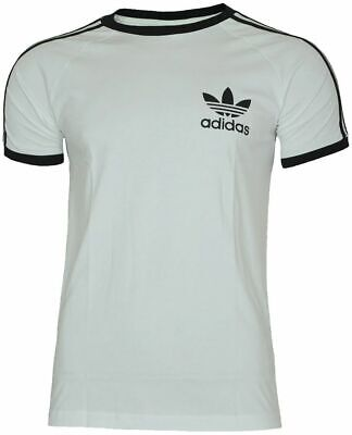 Details about adidas ORIGINALS CLFN T SHIRT RETRO TREFOIL TOP TEE MEN'S CALIFORNIA SUMMER NEW