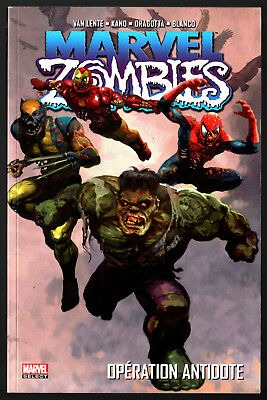 MARVEL SELECT # MARVEL ZOMBIES n°3 # OPERATION ANTIDOTE # 2017 PANINI COMICS