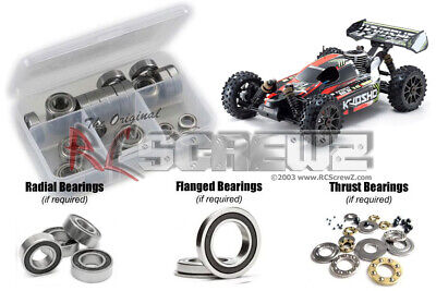 Mini Inferno ST 2 Kyosho BRG003SUS 4x8x3mm Stainless Shield Bearing Set