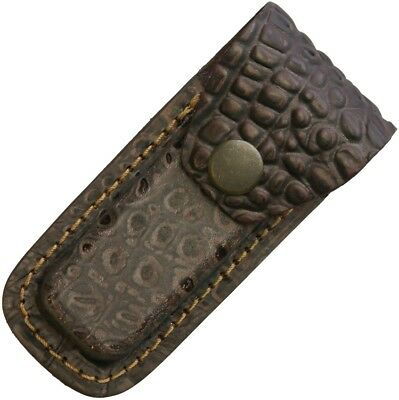 Sheaths--Leather Belt Pouch Brown