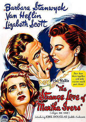 The Strange Love of Martha Ivers (DVD), dvd movie only, no case, FREE SHIPPING!!