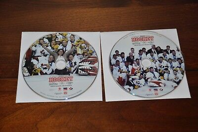 Canada Hockey Gold 2002 Olympics (DVD), 2-disc set,dvd's only,no case,FREE SHIP!