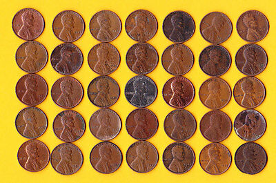 U.s.a. 1 Cent.35  Old Coins.