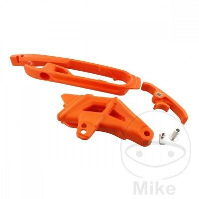Polisport Chain Guide Set Orange 90623