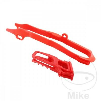 Polisport Chain Guide Set Red 90606