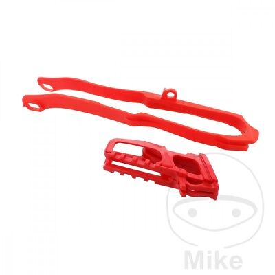 Polisport Chain Guide Set Red 90608
