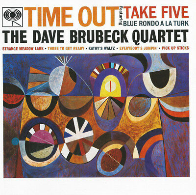 The Dave Brubeck Quartet ‎– Time Out REMASTERED / SONY Legacy CD 1997‎