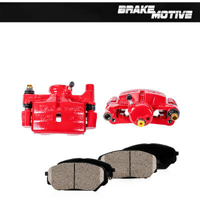 Rear Red Brake Calipers And Rotors Pads For Town /& Country Grand Caravan C//V
